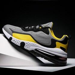 Tênis de corrida dos homens meia palma almofada ar tênis de fitness para meninos crianças ginásio formadores ao ar livre sapatos esportivos tamanho grande 46