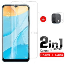 2in1 for oppo A15 camera lens film screen protector cover for oppo a15 a15 2020 6.52'' smartphone te