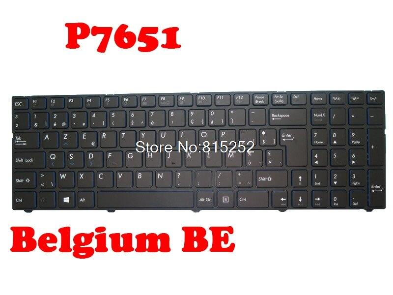 لوحة المفاتيح لابتوب ميديون ERAZER P7651 MD61103 MD61016 MD60934 MD60891 MD60811 MD60805 MD60806 MD60807 MD60810 بلجيكا BE