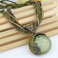 fashion bohemian pendant necklace sweater chain ladies long necklace pendant necklace for women gifts