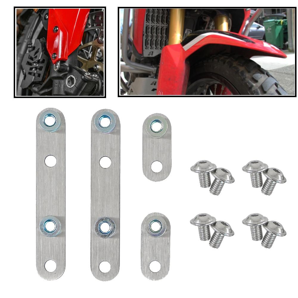 Guardabarros delantero ajustable para motocicleta, Kit de elevación para Honda CRF1000L, Africa...