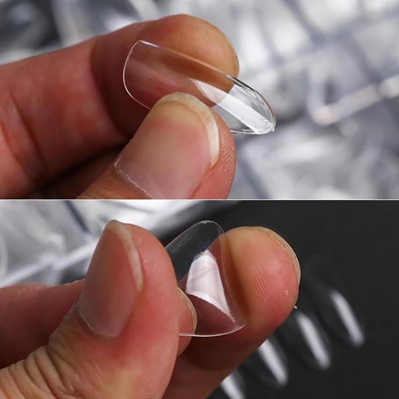 Система для наращивания ногтей Gel X полное покрытие искусственные ногти искусственное прессование на длинную балерину искусственный гроб ф...