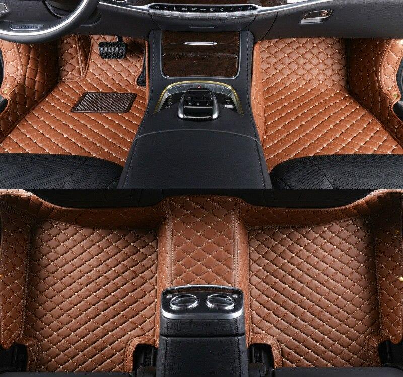 Custom car floor mats for auto Toyota venza Land Cruiser Prado FJ Crusier Highlander zelas Tundra levin car accessories styling