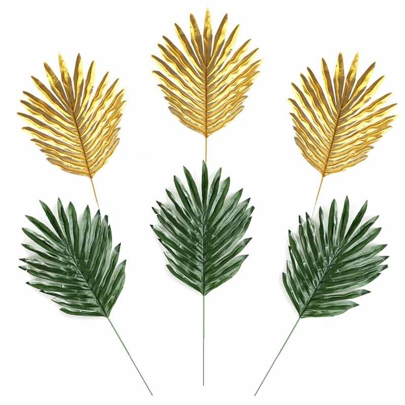1 Uds. Jardín casero decorado cola suelta girasol Planta artificial decoración falso helecho hoja verde planta de árbol