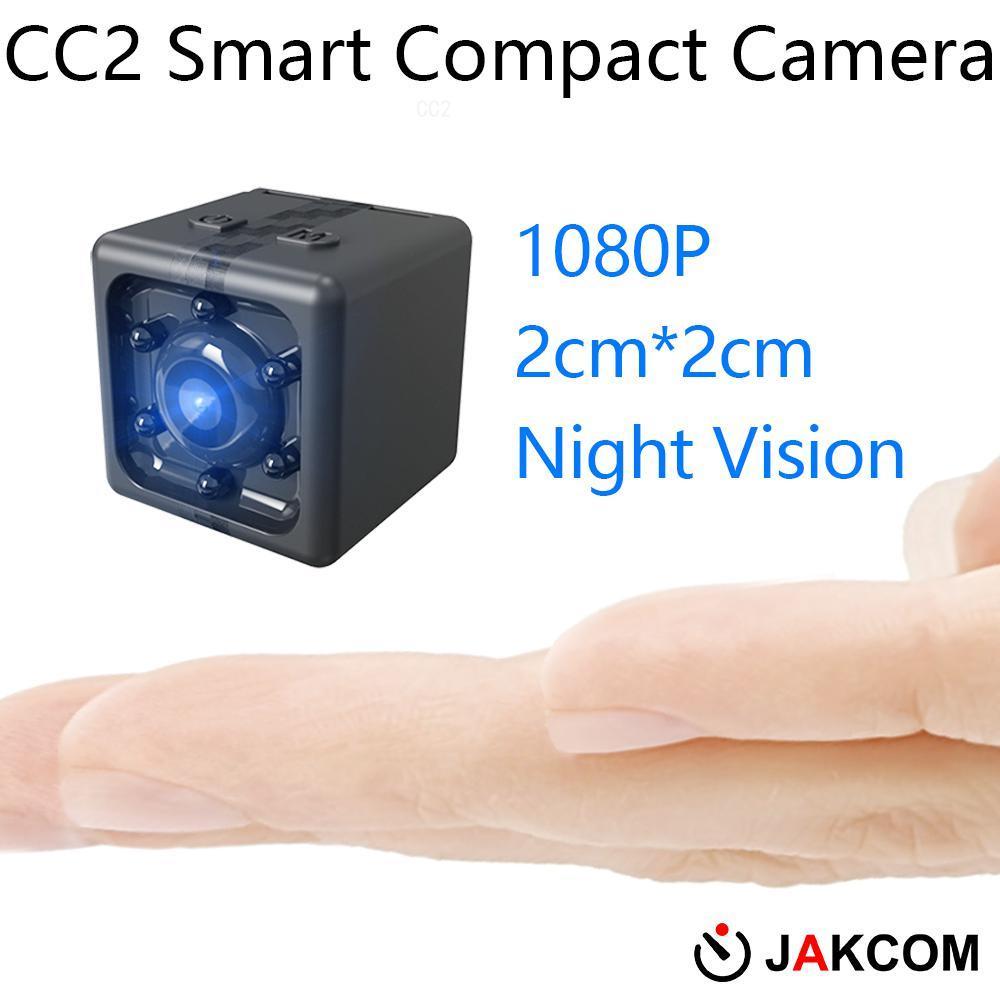 JAKCOM CC2 cámara compacta más reciente que mini pc osmo accesorios de acción 4k Cámara casco chin mount pen videocámara