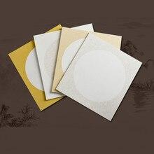 Papel Arroz cartes De calligraphie épaissir Xuan papiers Papier De Riz lentille carte montage peinture Papier cartes chinois Riz Papier carte