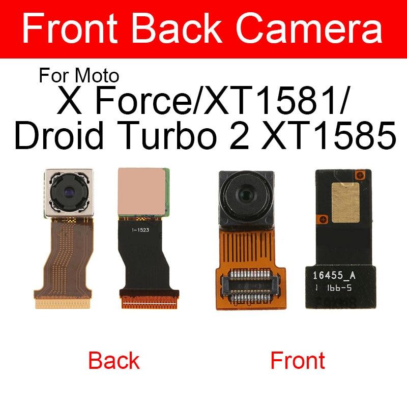 Гибкий кабель основной задней камеры для Motorola Moto X Force XT1581 Droid Turbo 2 XT1585 для большой задней камеры Замена гибкой ленты