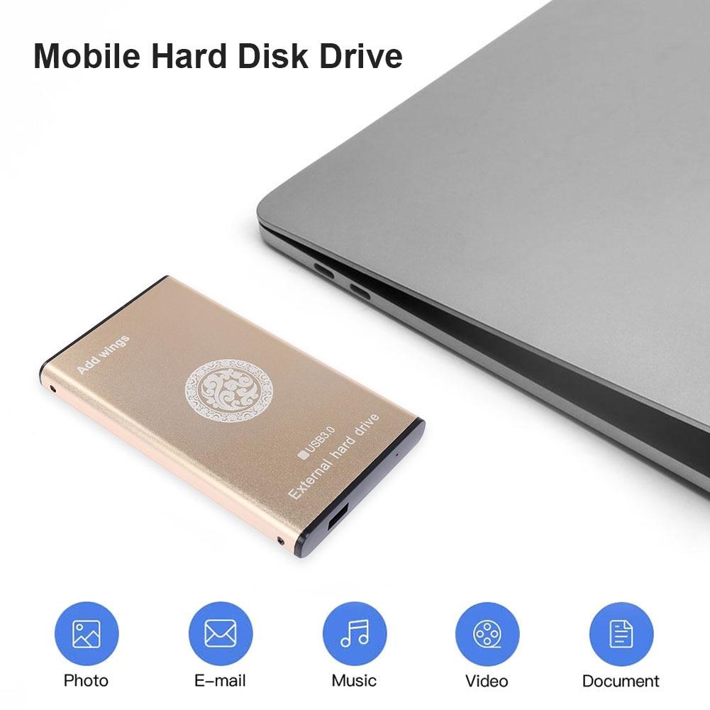 External Hard Drive 2TB 1TB 500GB 320GB 160GB 80GB USB 3.0 Metal Portable HDD Portable Hard Drive for Computers