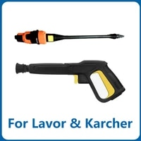 pressure washer wand tip for lavor karcher k2 k7 replacement lance blaster rotating turbo nozzle and adjustable spray nozzle