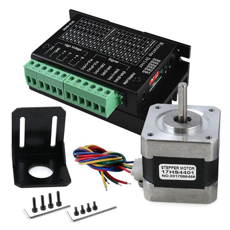 Controlador CNC HOT-TB6600 Motor paso a paso 4A 9-42V con Motor paso a paso Nema 17 Bipolar 1.7A 40N.Cm par de sujeción y Motor