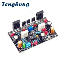 Tenghong Audio Power Verstärker Bord 100W Ultimative Fidelity Verstärker MOS Rohr Amplificador IRFP240 IRFP9240 Mono AMP DIY Audio