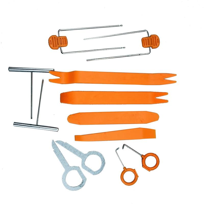 12 Uds herramientas de desmontaje de coche del Panel Interior de la...