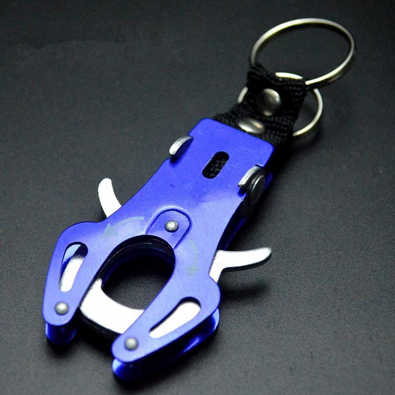 1Pc אופנה עדין לטפס וו Carabiner קליפ נעילת Keyring Keychain מפתח עמיד צבעים טבעת שרשרת רוק טיפוס