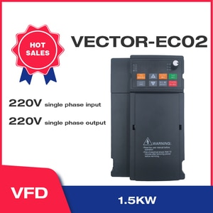Water Pump Constant Pressure Water Supply Special Frequency Converter 1.5KW-2HP Single-Phase Motor EY02