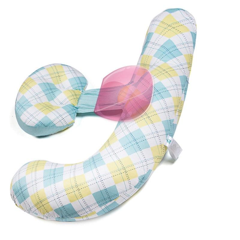 وسادة الحوامل للنوم H-شكل الأمومة وسادة للجسم الصيف الطازجة منقوشة الفراش الخصر البطن دعم تنفس وسادة