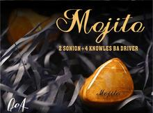 QOA Mojito 2 Sonion BA+4 Knowles 6BA Driver Units In Ear Earphone HIFI DJ Monitor with  2Pin Silver-plated Copper Cable Headset