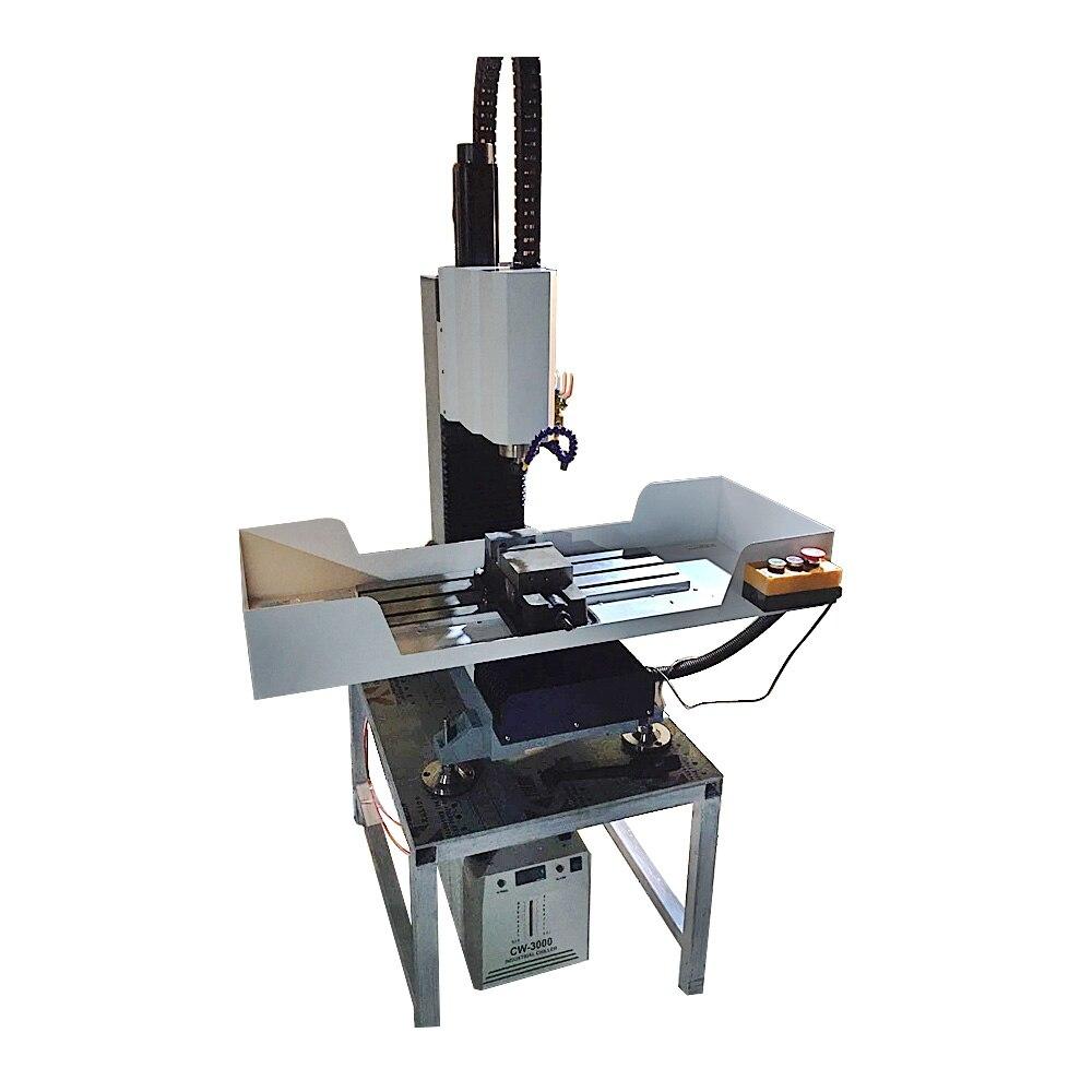 Enrutador CNC de hierro fundido 4020, 1,5 kW, 2,2 kW, fresado de corte de acero metálico, soporte de la máquina, actualización de 4 ejes y 5 ejes