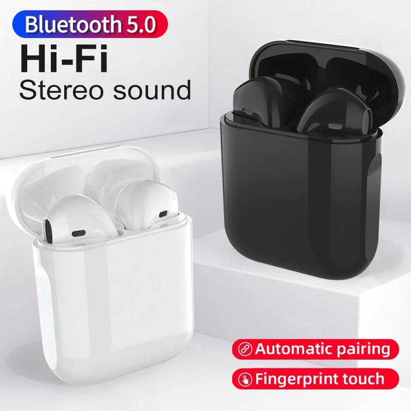 Bluetooth Earphones TWS Wireless Headphones Sport Headset In ear Earbuds Hands free Headphones наушники беспроводной PK i9000