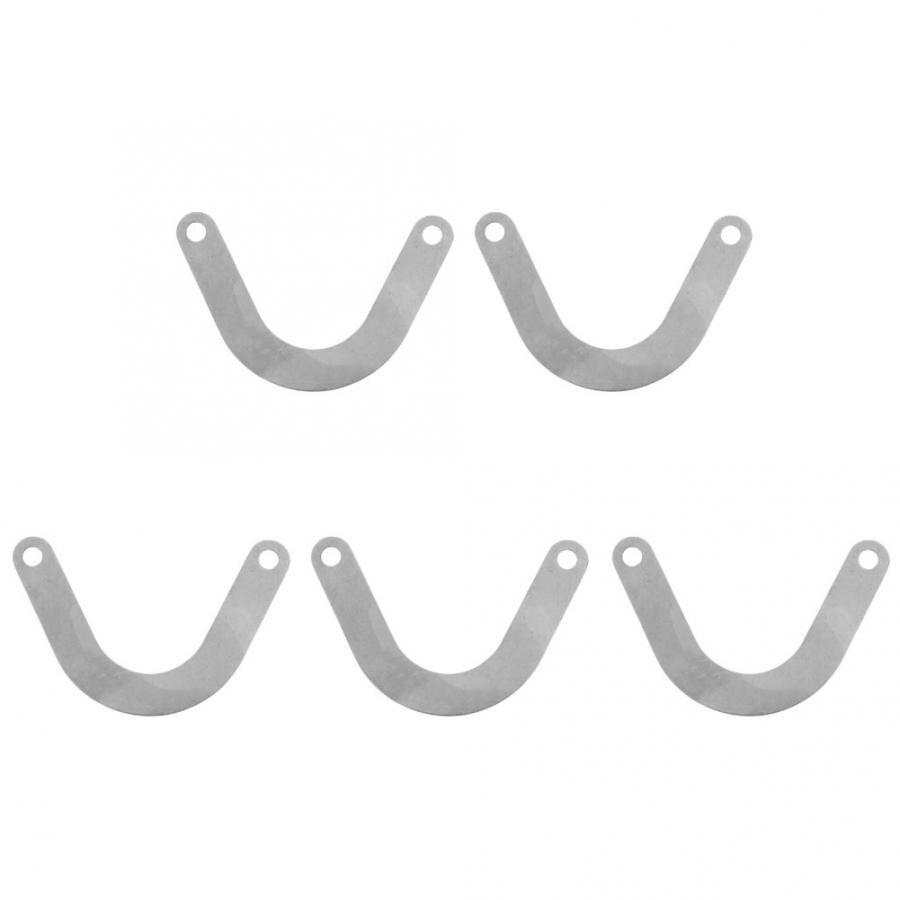 5 шт. пластина клапана u-образный Металлический Воздушный компрессор аксессуар 59 мм широкий воздушный насос аксессуары стабильная рабочая производительность