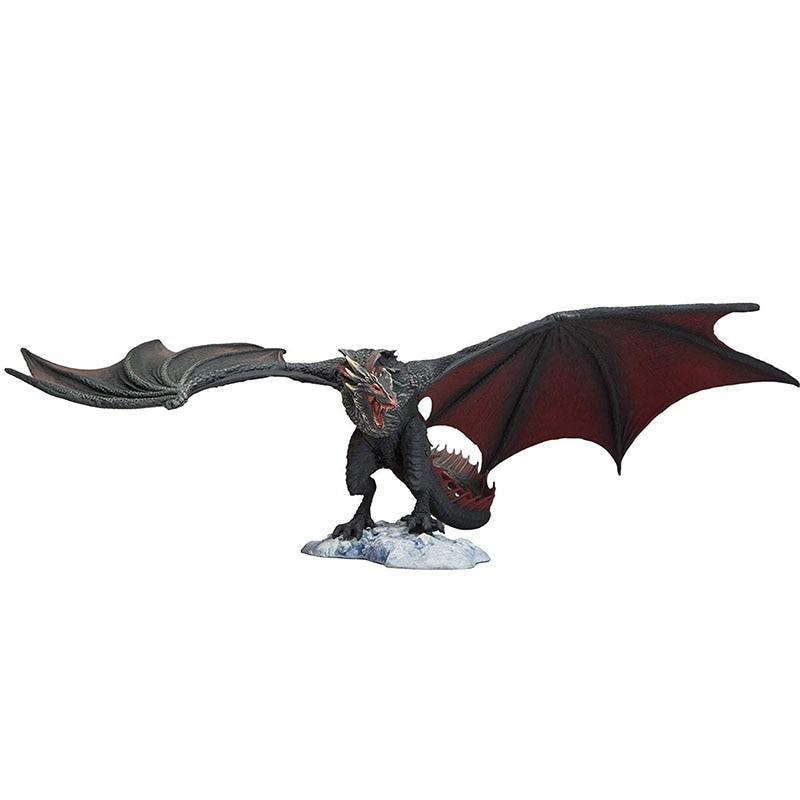Colección de juegos de tronos DROGON (dragón negro) de juguetes de figuras de acción, juntas de edición para colectores, decoración de habitación móvil