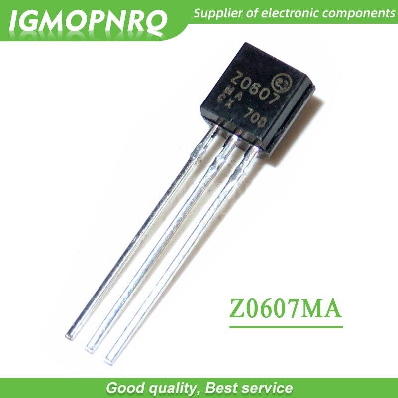 100 Uds Z0607MA Z0607 a 92 Triacs 0,8 Amp 600 Volt original nuevo