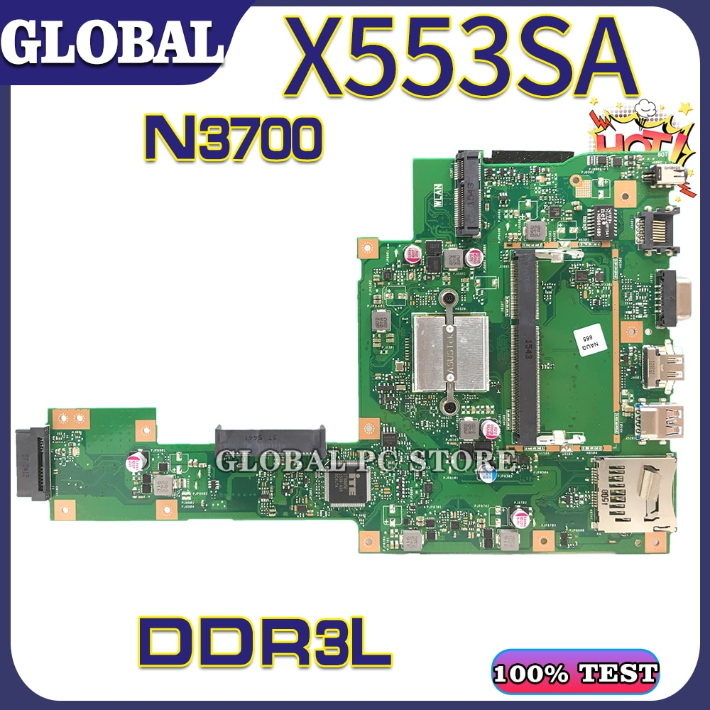 Get X553S for ASUS X553SA X553 F553 laptop motherboard mainboard 100% test OK N3700