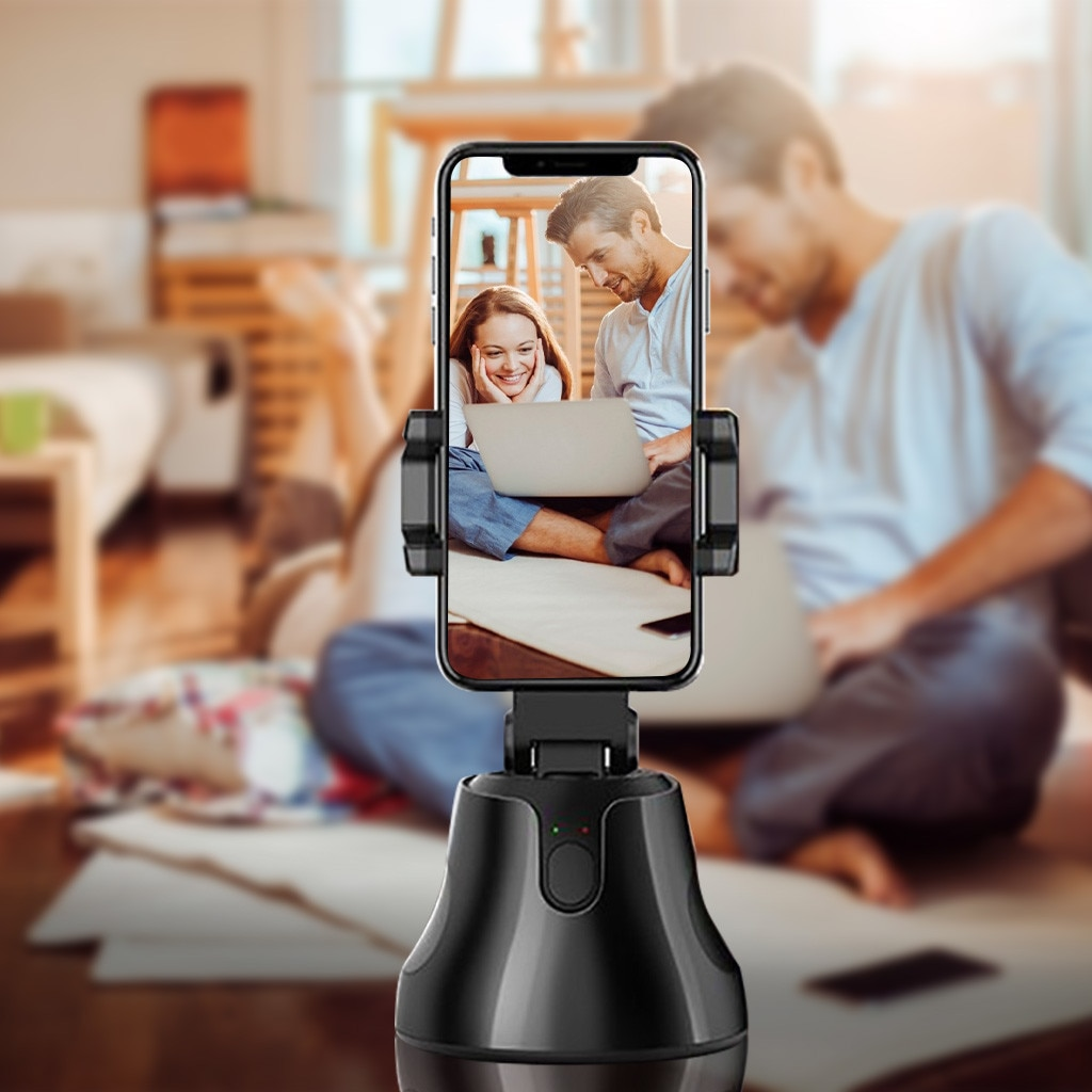 Teléfono Inteligente cardán 360 ° Foto seguimiento Teléfono para Vlog Video registro cardán inteligente SEGUIMIENTO DE LA CARA accesorios de la foto casera