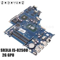 nokotion for hp 15 bs 15t bs laptop motherboard 934910 001 934910 601 dkl50 la e802p sr3la i5 8250u cpu 2gb gpu