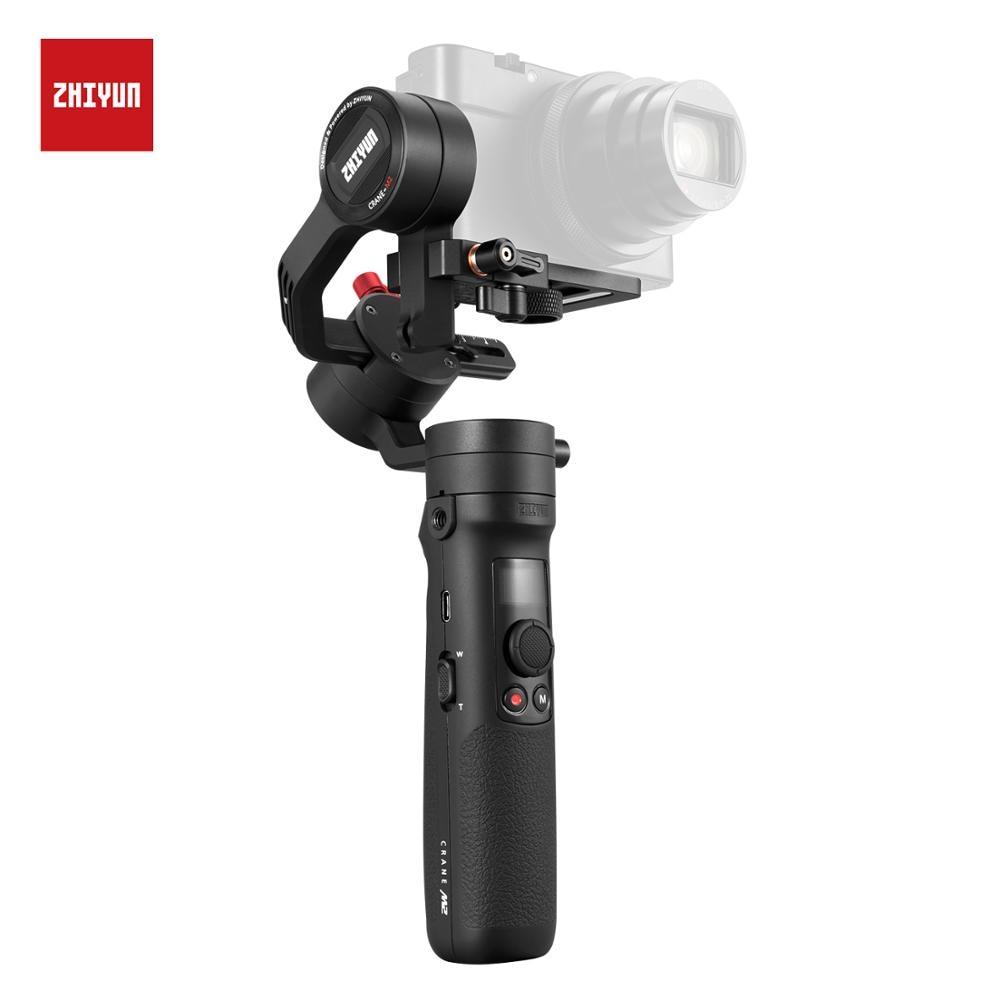 ZHIYUN Offizielle Kran M2 Gimbals für Smartphones Telefon Spiegellose Action Kompakte Kameras Neue Ankunft 500g Handheld Stabilisator