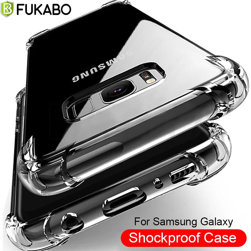 Ultra Thin Shockproof Case For Samsung A51 A52 A71 A72 A70 A50 A32 A21S A12 S10 S8 S20 Fe S21 Note 2