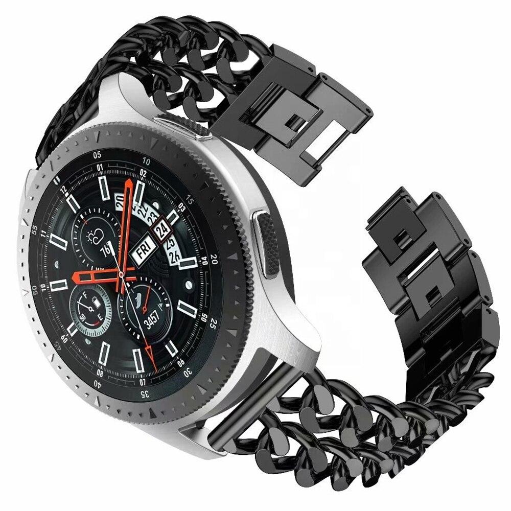 22mm gear s3 frontier correa for samsung galaxy watch 46mm huawei watch gt 2e honor magic 2 46mm amazfit gtr 47mm band bracelet
