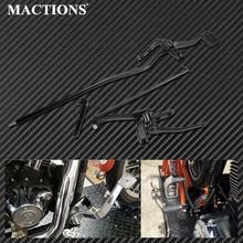 Kit de maillons pour Harley Dyna   Commandes avant de moto leviers et maillons pour Harley Dyna 2006-2017 FXDF