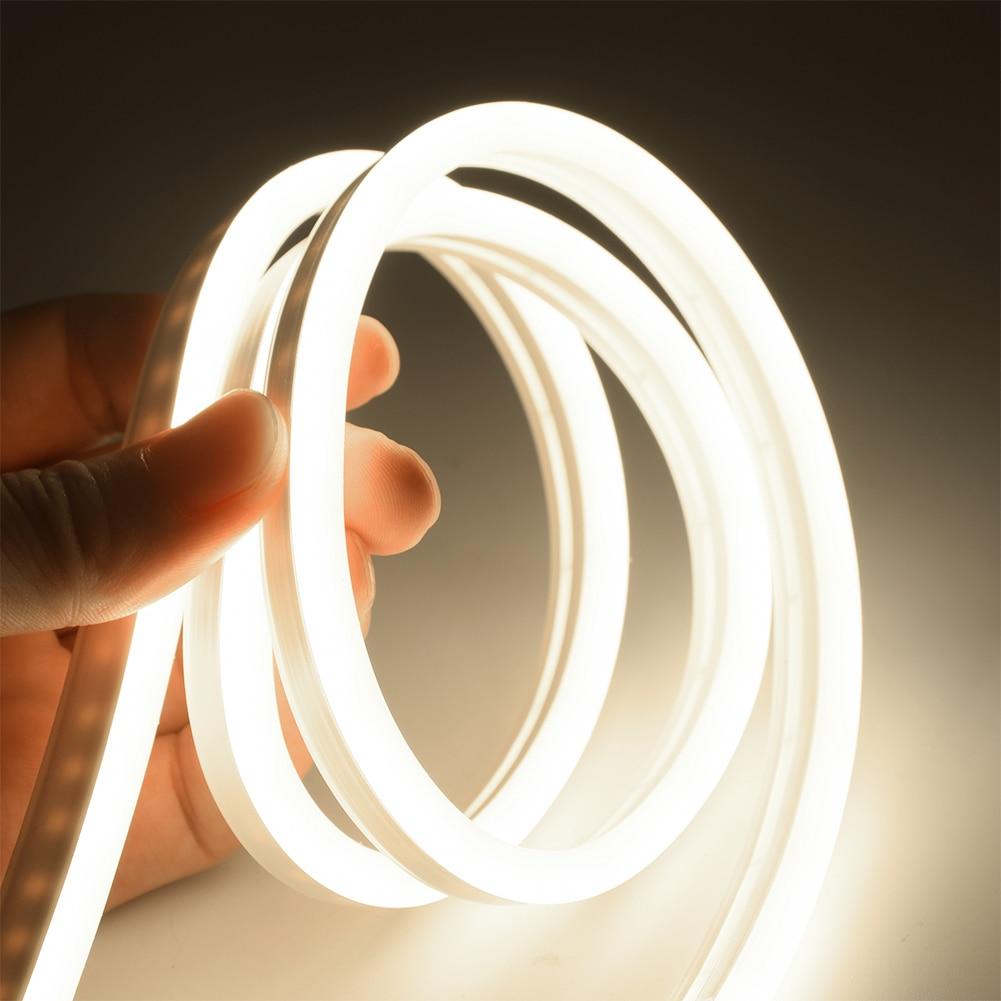 6mm Narrow Neon light 12V LED Strip SMD 2835 120LEDs/M Flexible Rope Tube Waterproof for DIY Christm