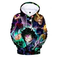 harajuku 3d hoodies my hero academia adult kids youth sweatshirt multi style tsuyu asui boku no hero academia cosplay hoody