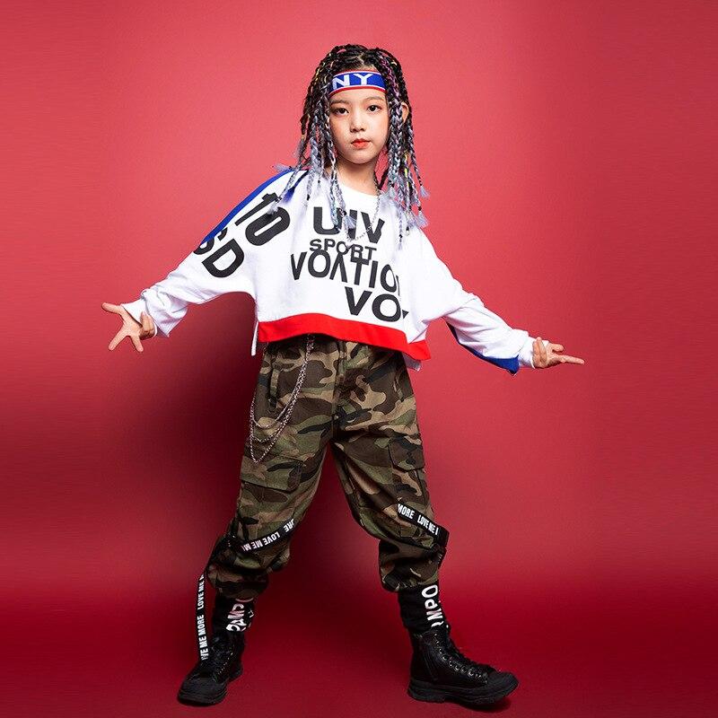 Sudadera de estilo Hip hop para niños ropa deportiva de manga larga...