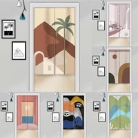 japanese partition curtain kitchen door curtain shelter curtain home decoration blackout curtain doorway hanging curtain