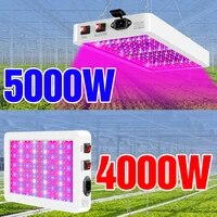 5000w plant light led full spectrum 220v growth lighting 4000w phytolamps waterproof fitolampy greenhouse flower seeds grow tent