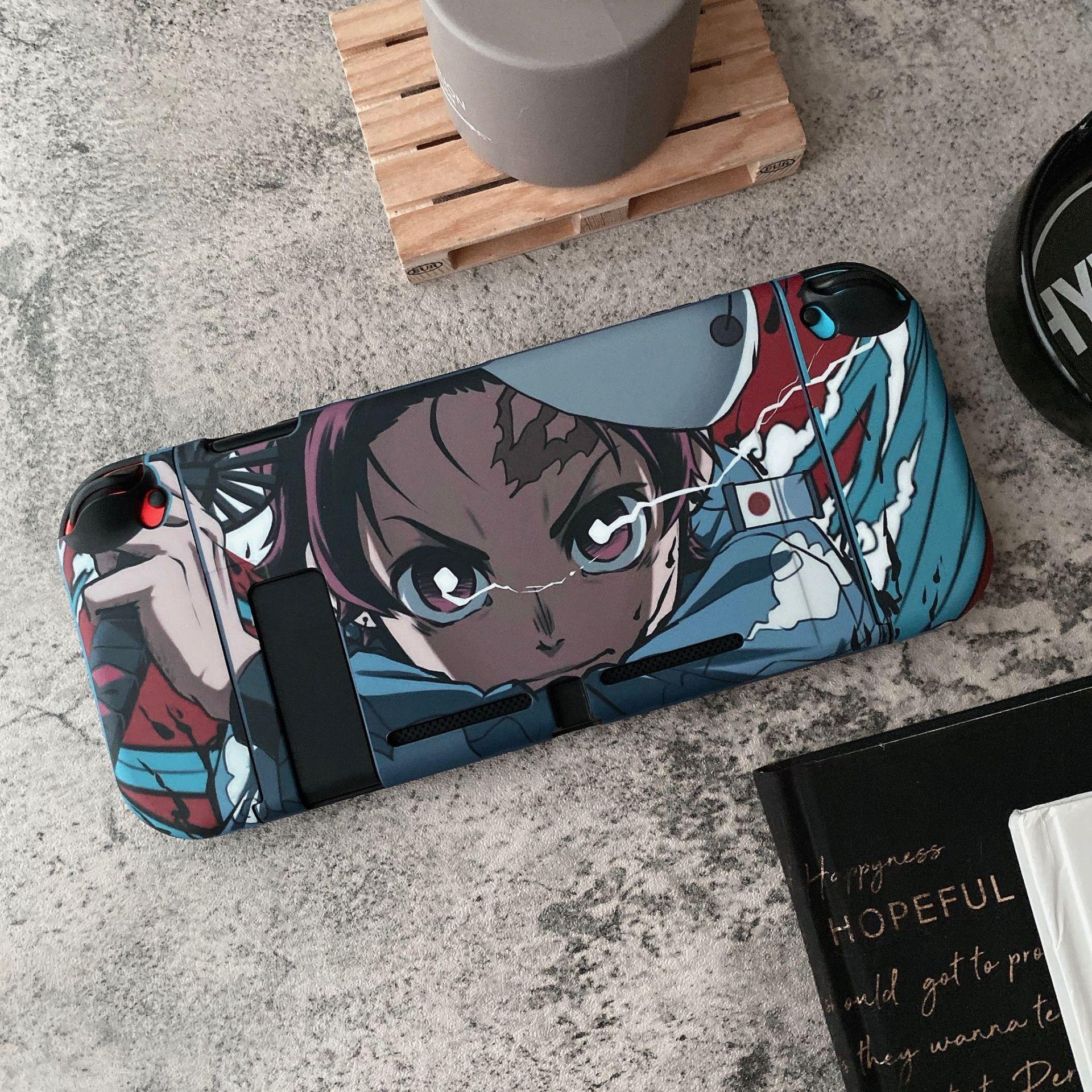 Anime Demon Slayer Kimetsu No Yaiba For Tanjiro Nintendo Switch Shell Protective Case