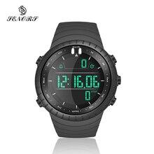 Senors électronique numérique hommes montre Led étanche Sport montre mode décontracté plongée Sport montre-bracelet
