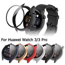 Protective Case For Huawei Watch 3 Pro Protector Cover For Huawei Watch 3 46MM 48MM Tempered Glass S