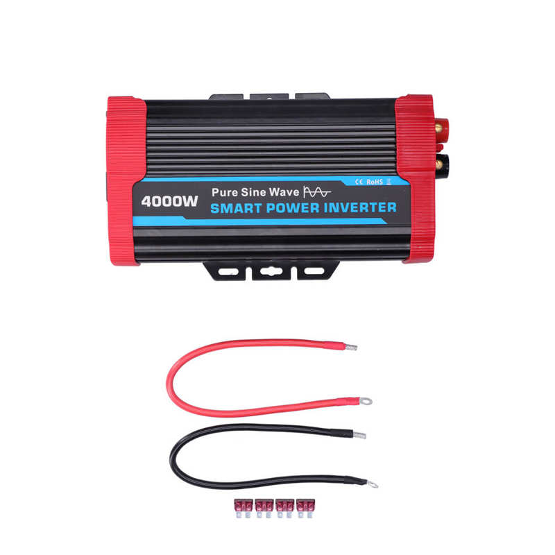 new 300w 400w 500w 600w power inverter converter dc 12v to 220v ac cars inverter with car adapter Inverter Pure Sine  Power Car Adapter DC 12V to AC 220V-240V Converter Peak 8000W