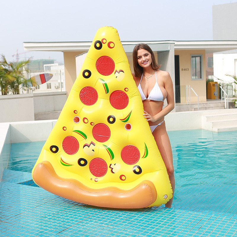 180cm giant inflatable beer cup beer bottle shap air mattress air bed adults kids floating row water fun toys beach boia piscina 2021 Summer Inflatable Giant Pool Float Mattress Toys Pizza Beach Swimming Ring Floatie Air Mattress Foldable Floating Water Toy