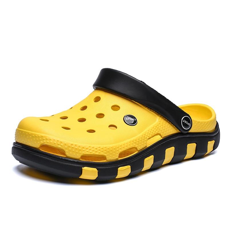Summer Slides Comfortable Casual Beach Swimming Shoe Brand New Arrival Sandals  Men Garden Casual Aqua Clogs Sandals