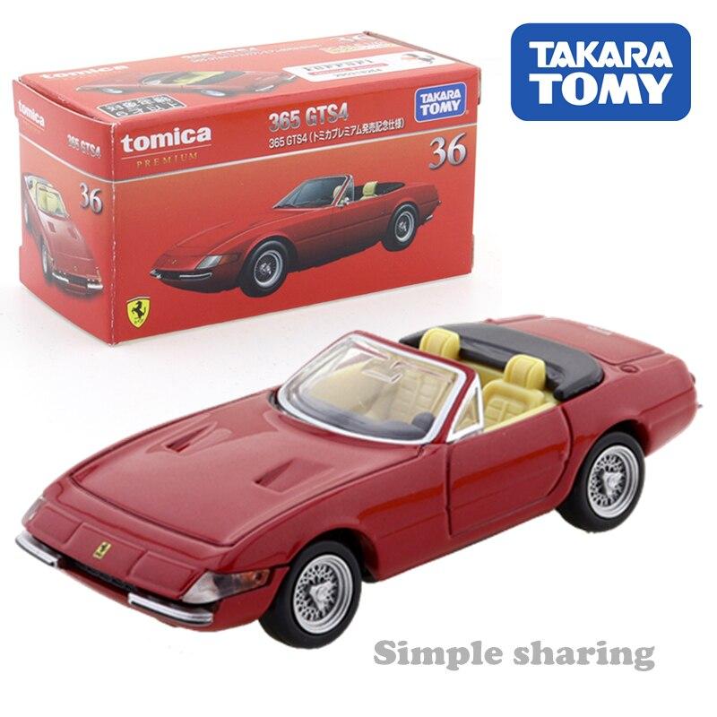 Takara Tomy Tomica Premium Ferrari 36 365 GTS4 se pudra Spezial edición 1/61 caliente niños Pop Motor para juguetes vehículo fundición modelo de Metal