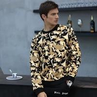 alexplein graffiti sweatshirt men 100 cotton round neck winter streetwear mens clothing fashion aesthetic casual wear stylist