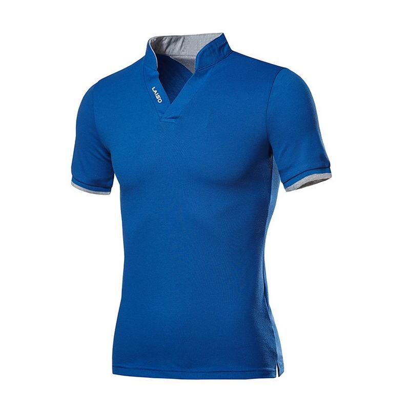 Novedad 2020Polo de algodón de hombre y camisetas de marca moda Polo...