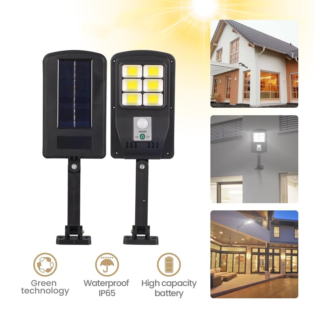 Olar Street Lamp Outdoor Garden Motion Sensor Light Balcony Wall Lamps Street Cottage Lamp Farola Solar Energy Lights