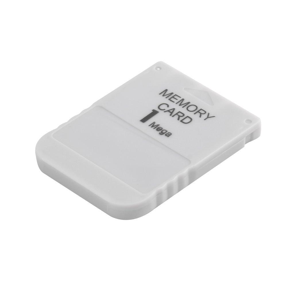 PS1 карта памяти 1 мега карта памяти для PlayStation 1 One PS1 PSX игра Полезная практичная доступная белая 1 м 1 Мб