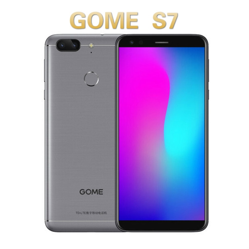 GOME S7 Smartphone 5.7 inch HD RAM 4GB ROM 64GB 4000mAh Iris Recognition 4G LTE Mobile Phone