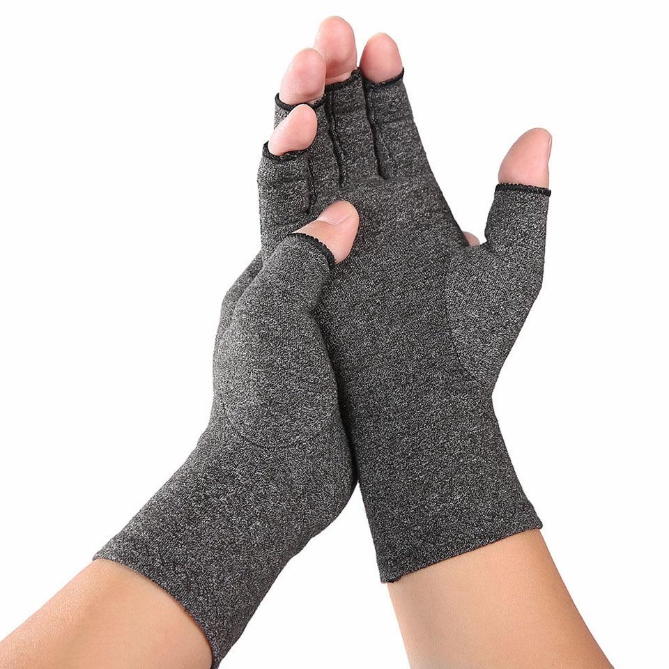 1 paire de gants darthrite de Compression soutien de poignet coton soulagement de la douleur articulaire orthèse de main femmes hommes thérapie bracelet